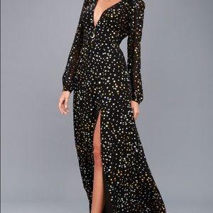 Lulus Star ⭐️ maxi dress - size M